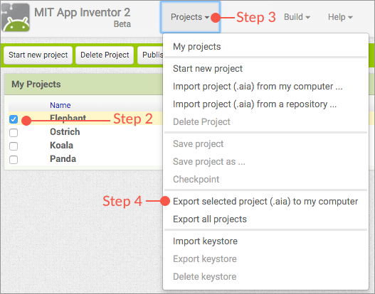 Import from App Inventor - Classic Docs
